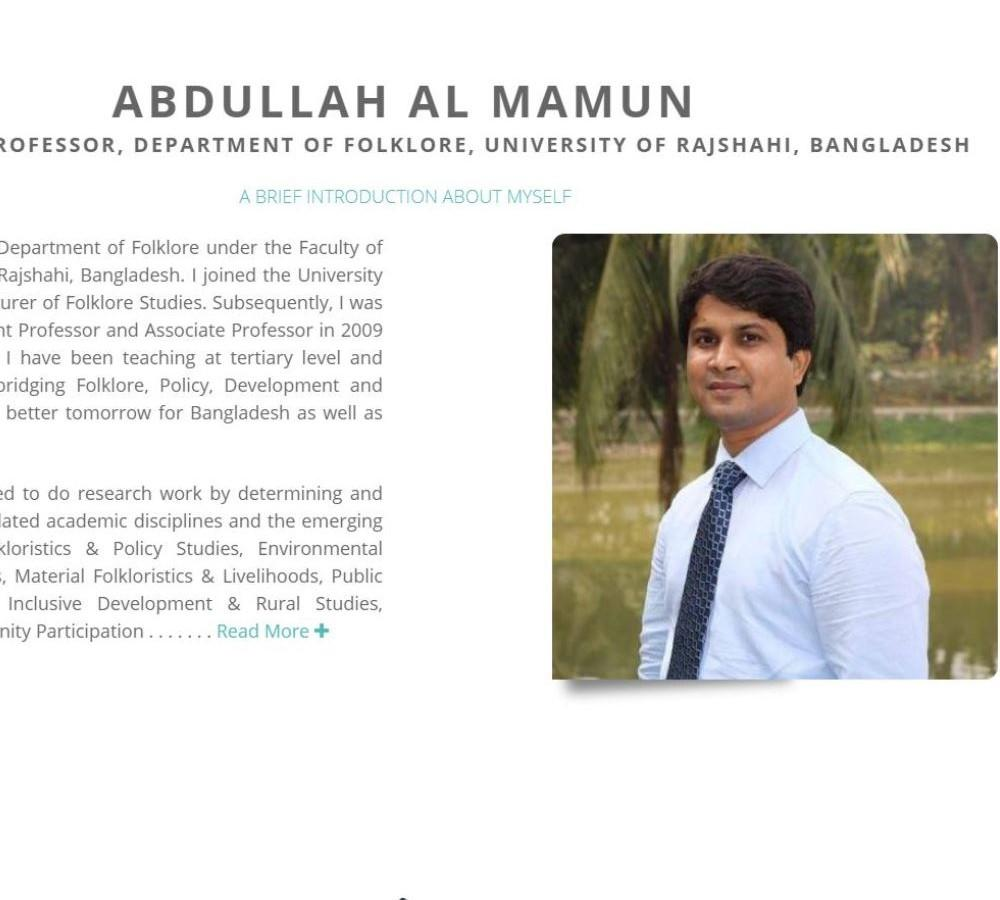 Official website of Assistant Professor